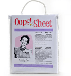 Accidents Happen, This Oops! Sheet Giveaway has you covered! (CLOSED)