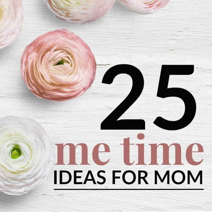 mommy me time ideas