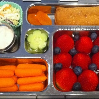 Colorful Snacks in Today's Lovable Lunch