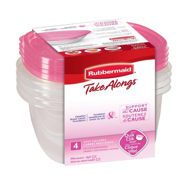 Rubbermaid Goes Pink for Breast Cancer Awareness {Giveaway}