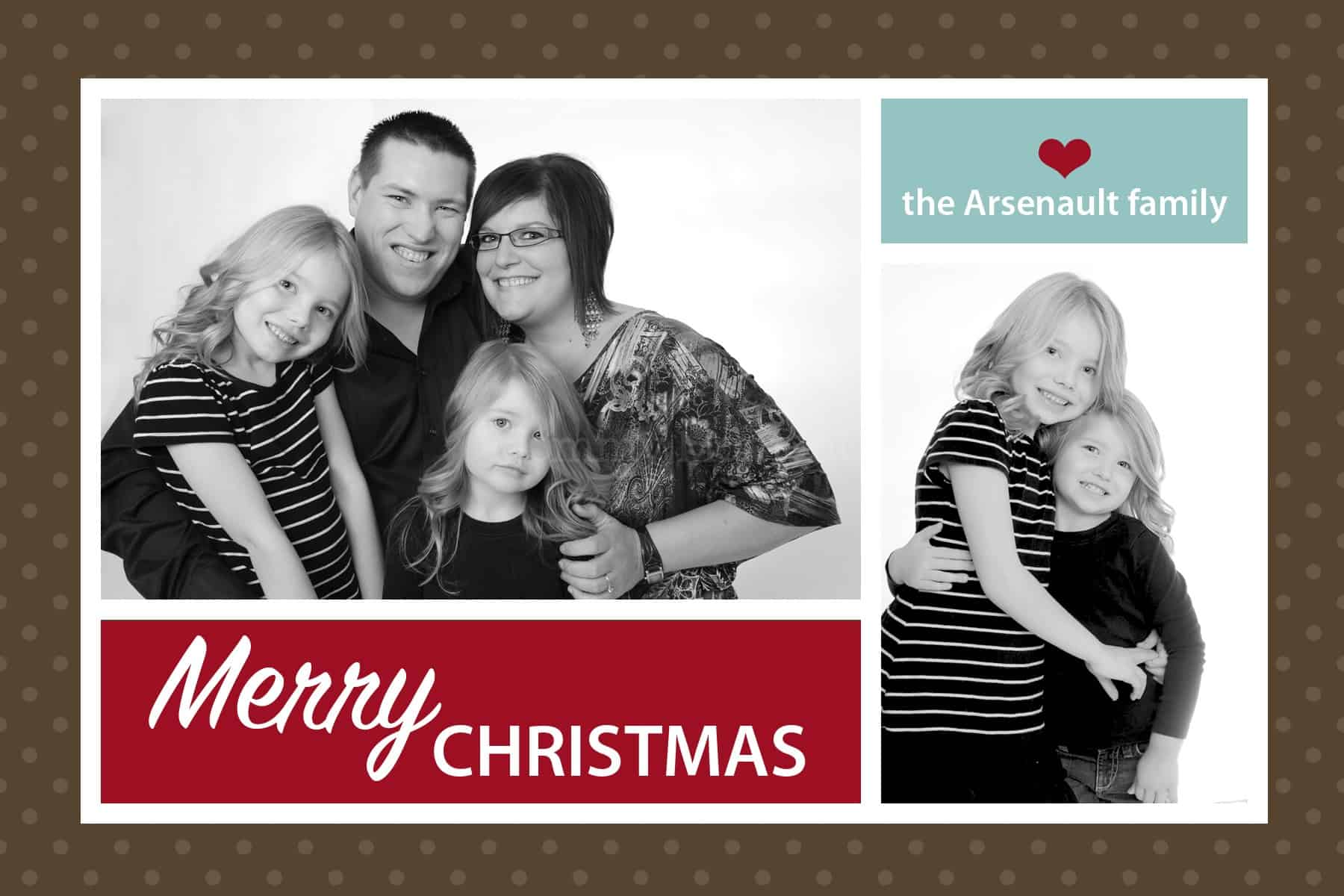 Merry Christmas from my family to yours! {Wordless Wednesday with Linky}