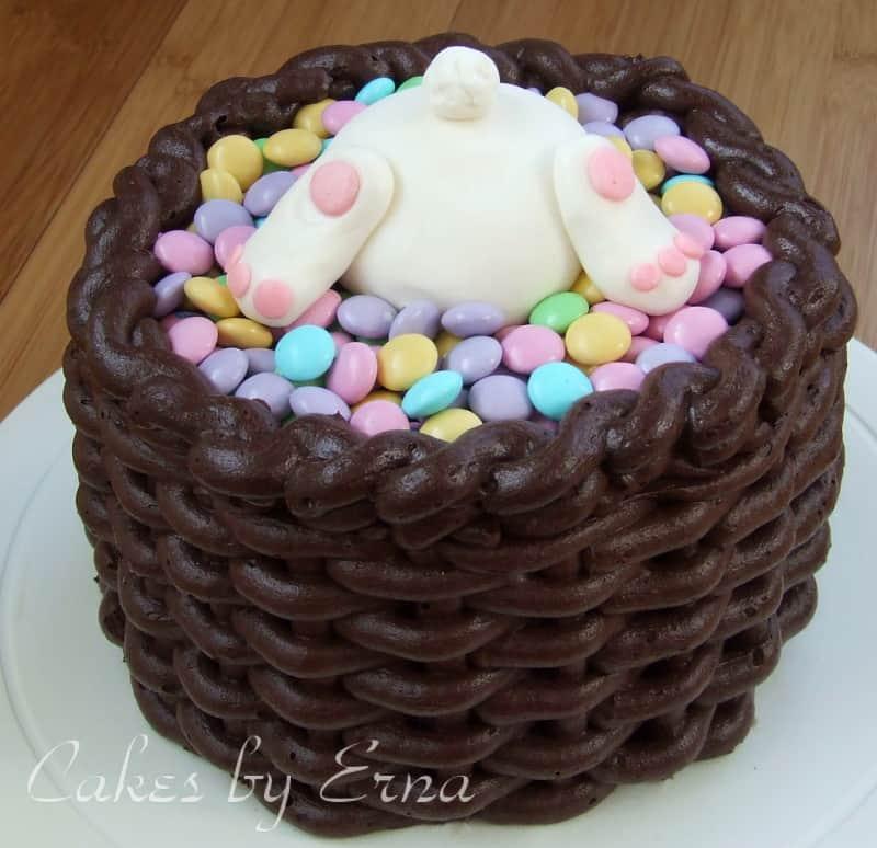 Bunny basket cake mommy moment bunny basket cake negle Gallery