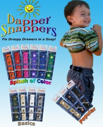 Fix Droopy Drawers with Dapper Snappers #Giveaway