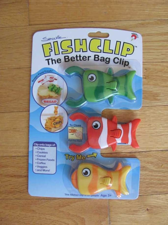 Clamp Anything from Grocery Bags to Computer Cables with FishClip™ #giveaway