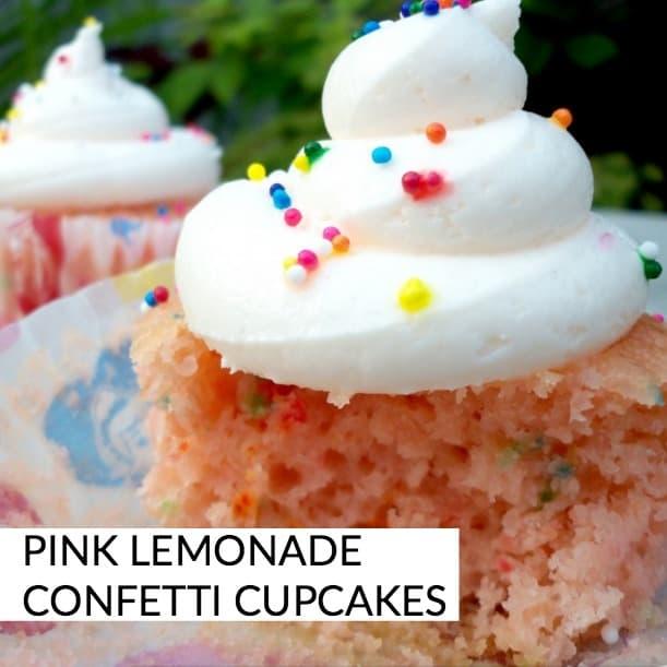 pink lemonade cupcakes perfect for summer - oh yum!
