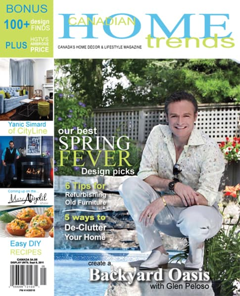 Get Inspired With Decorating and Renovations with Canadian Home Trends Magazine #giveaway
