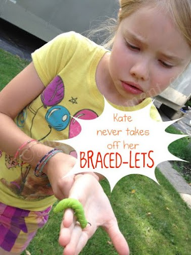 BRACED-LETS are my daughter Kate's #1 choice for Back-To-School