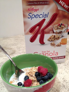 The new products from Kellogg's have our kids smiling!