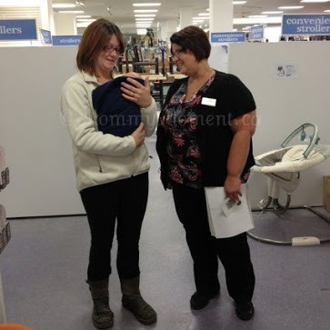"""The """"Everything Baby"""" month at Sears & a video of my visit to the St. Vital Sears in Winnipeg #SearsBabysRoom"""