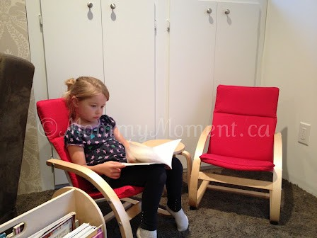 Create a cozy reading area with guidecraft kiddie rocker for Toddler reading chair