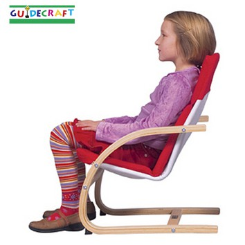 Create a cozy reading area with guidecraft kiddie rocker for Sitting easy chairs