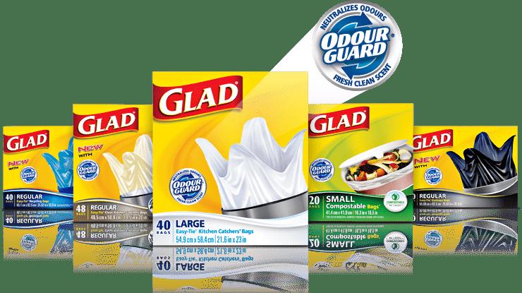 Glad Garbage Bags
