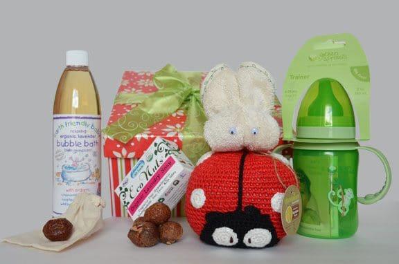 baby organic gift basket