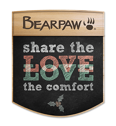Share the love Bearpaw campaign