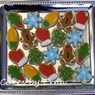 Christmas Cookies #CakesbyErna