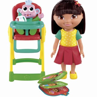 Fisher-Price Dora the Explorer Snack Time for Baby Boots Playset #Giveaway