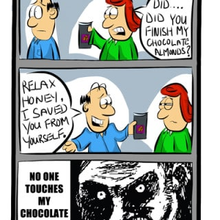 Carl Saves His Wife ~ Cartoon