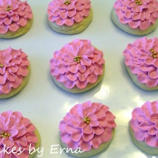 Flower Cookies ~ Cakes By Erna