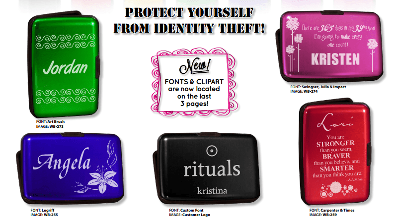 Total She Security Card Case