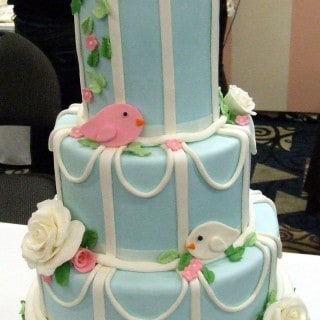 Birdcage Cake ~ A Cakes by Erna Creation