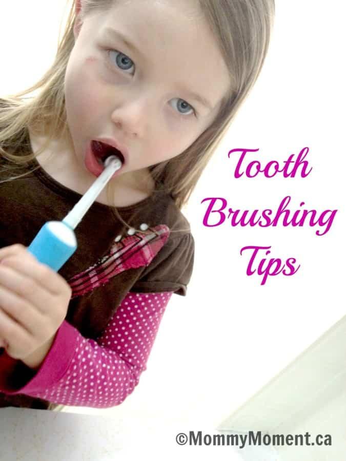 tooth brushing tips