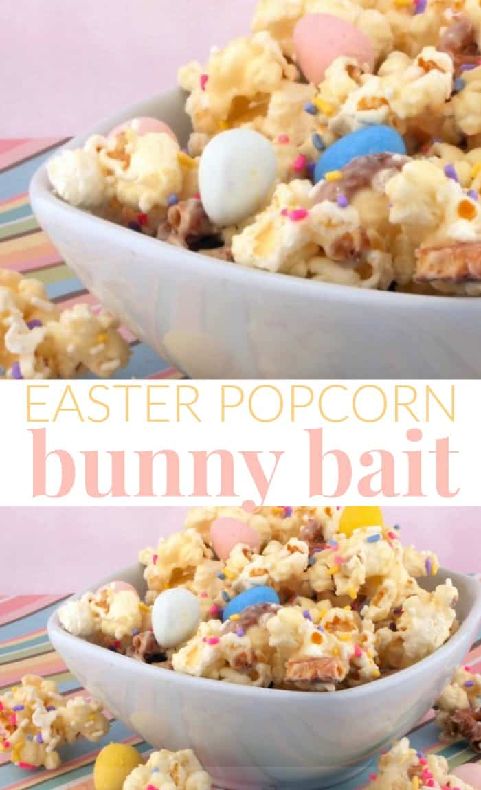 bunny bait popcorn easter