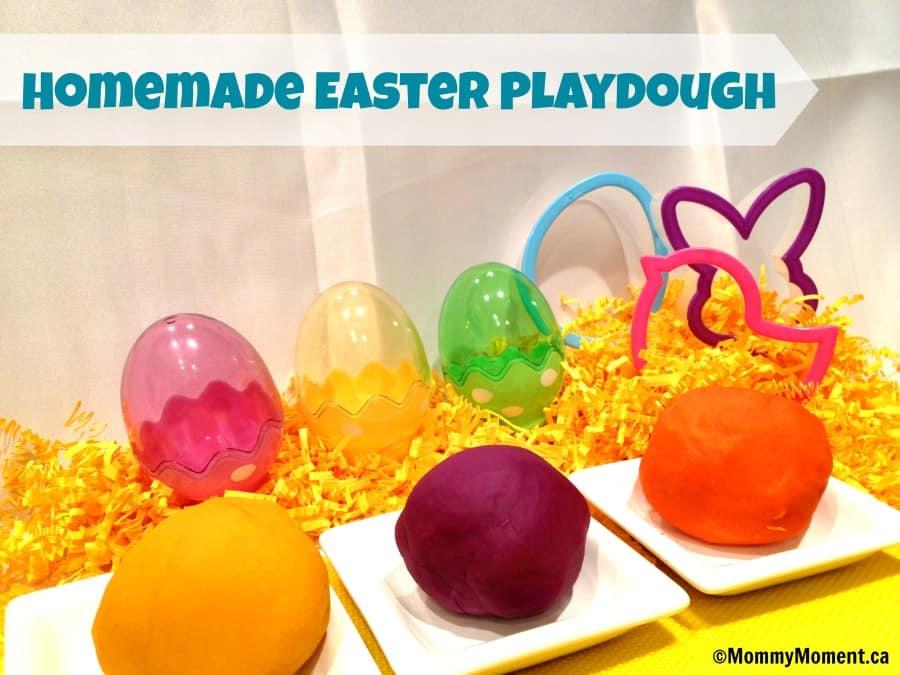 Easter Playdough