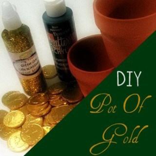DIY ~ Pot of Gold Tutorial