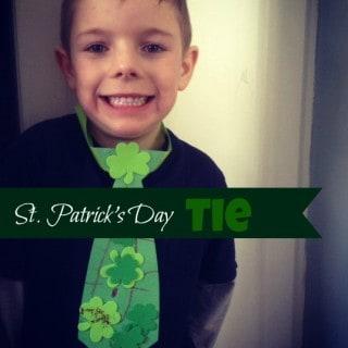 DIY ~ St. Patrick's Day Tie
