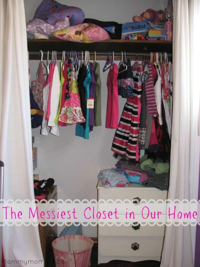 Messiest Closet