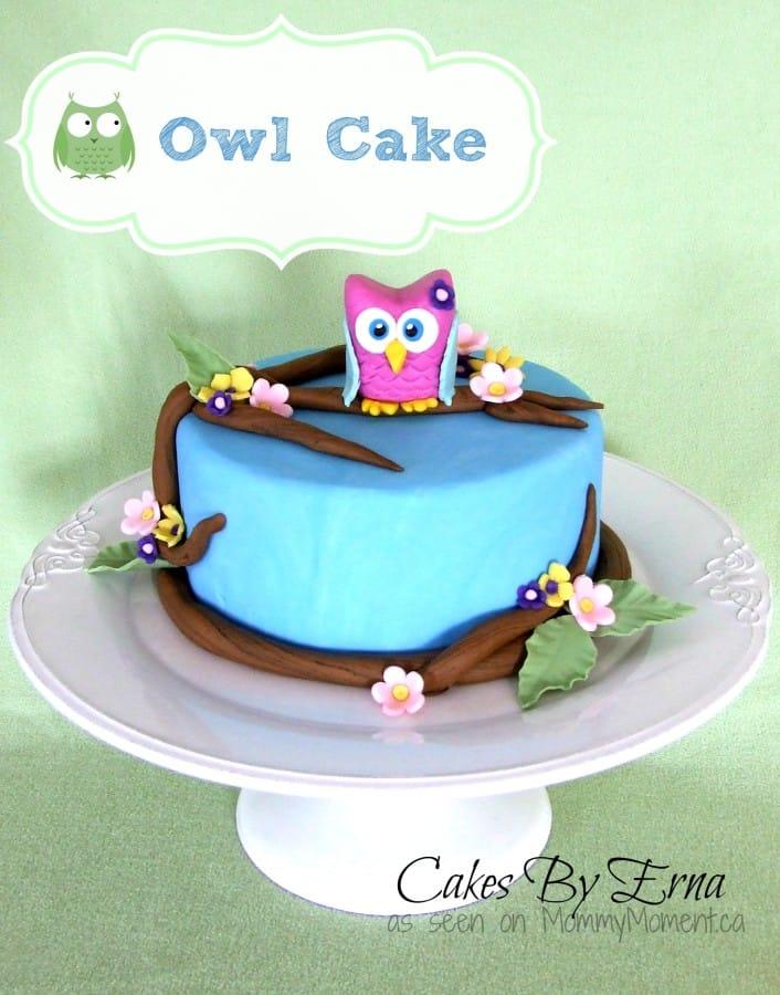 An Owl Cake A Cakes by Erna creation