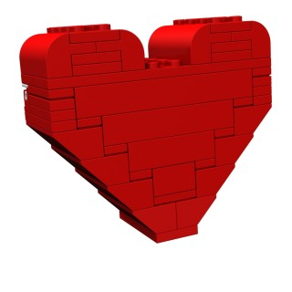 Calling All Lego Builders: Make Mom A Heart This Mother's Day