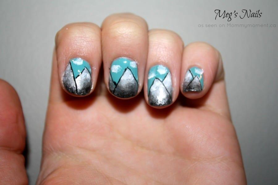 Mountain Nails by Meg