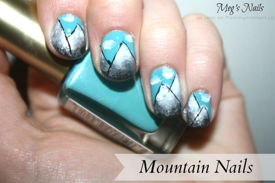 Mountain nail by Meg