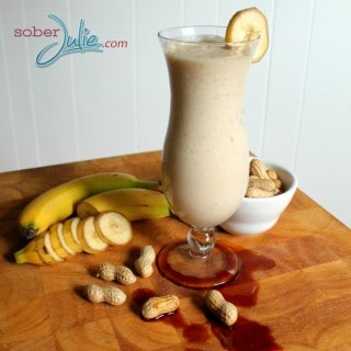 Don't Let Brown Bananas Go To Waste – Banana Vanilla Peanut Butter Smoothie