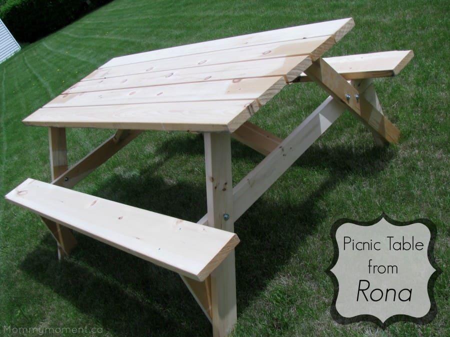 Rona Picnic table giveaway