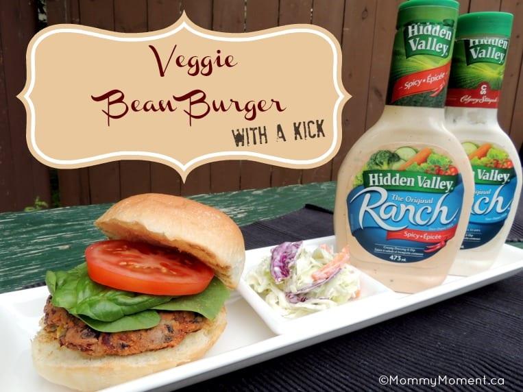 Veggie Bean Burger
