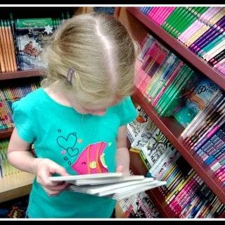Bookstore Dilemma ~ #WordlessWednesday {Linky}
