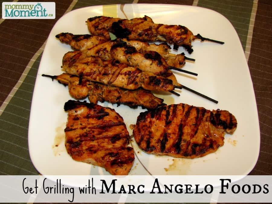 Get Grilling with MarcAngelo Foods