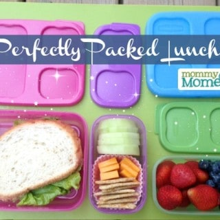 Perfectly Packed Lunches {Rubbermaid LunchBlox #Giveaway}