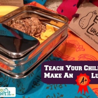 Teaching kids to pack their own lunch {ECOlunchbox #Giveaway}