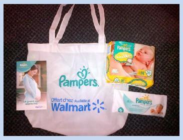 Pampers Prenatal Prize Pack