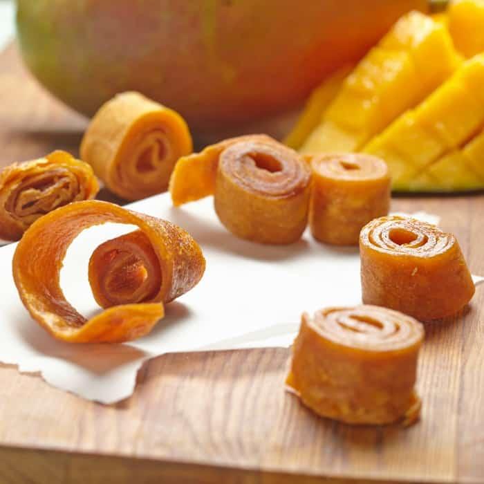 homemade fruit roll ups oven