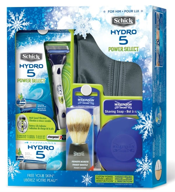 Schick Hydro Power Select Holiday 2