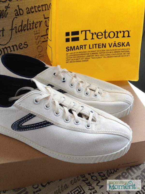 Loving my mom shoes {Nylite canvas shoe by Tretorn #Giveaway}