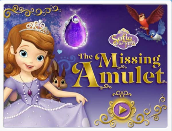 Sofia the First missing amulet disney junior