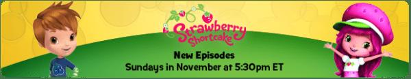 Strawberry Shortcake & Huckleberry disney junior