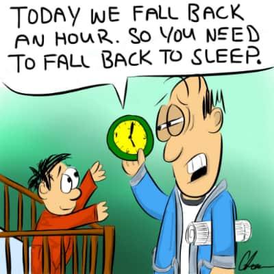 Time Change Headache