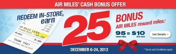 Air Miles 95 for 10