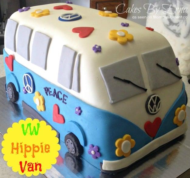 How To Make A Vw Van Cake